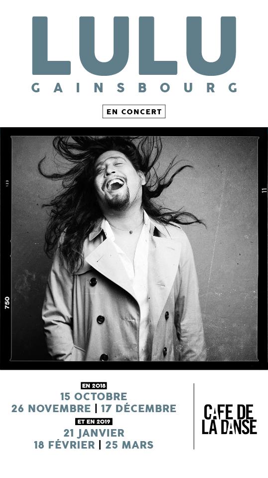 Lulu Gainsbourg - concert